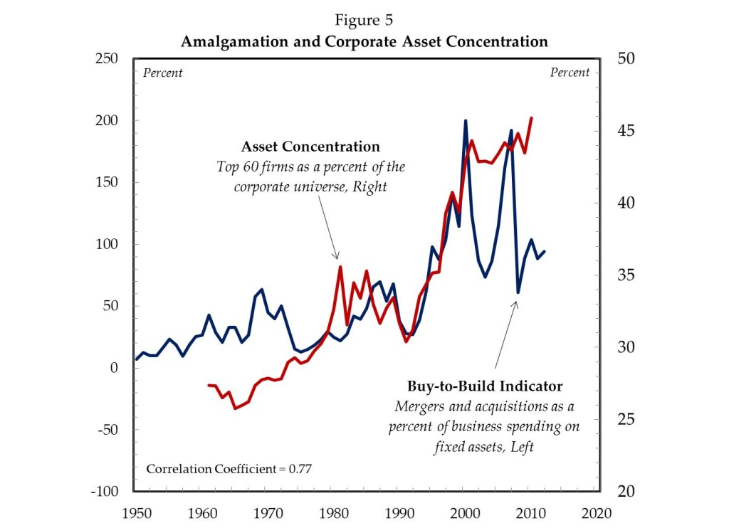 Amalgamation and Corporate Asset Concentration